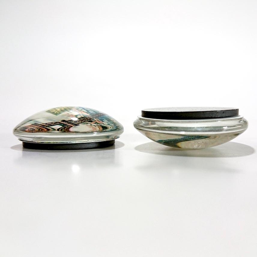 マグネット 6個セット ドーム型magnet 磁石  冷蔵庫やホワイトボードに最適!