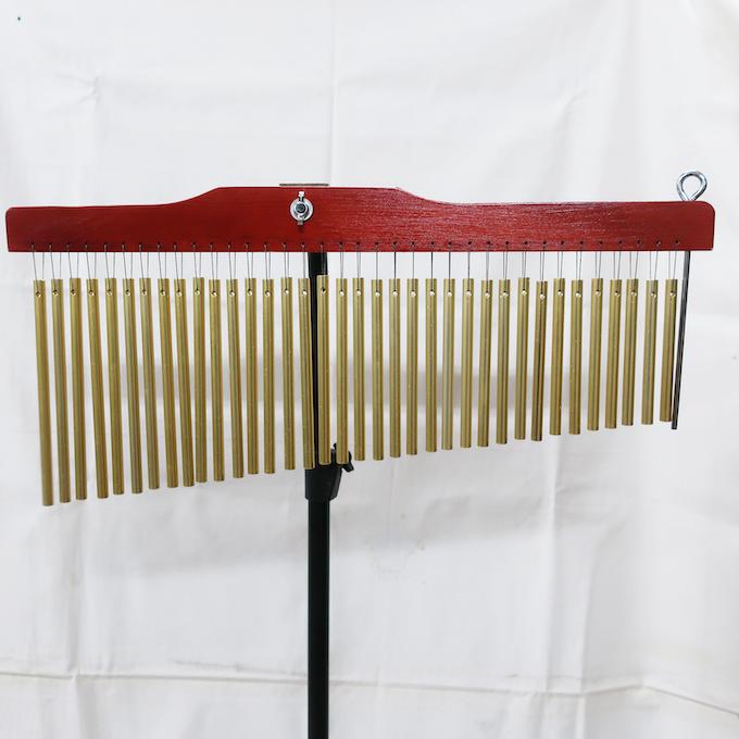 ツリーチャイム ウィンドチャイム 36音(36 bar) 専用スタンド + キャリーバッグ付き