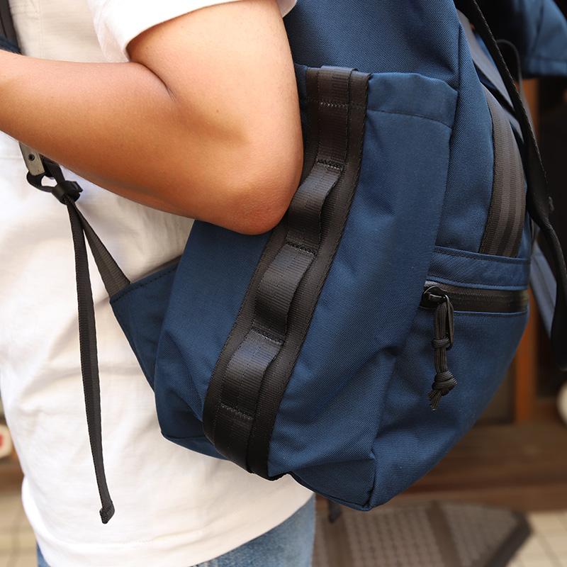 DEFY/デフィー VerBockel RollTop Backpack NAVY