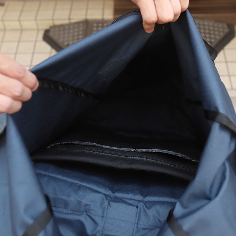 DEFY/デフィー VerBockel RollTop Backpack NAVY