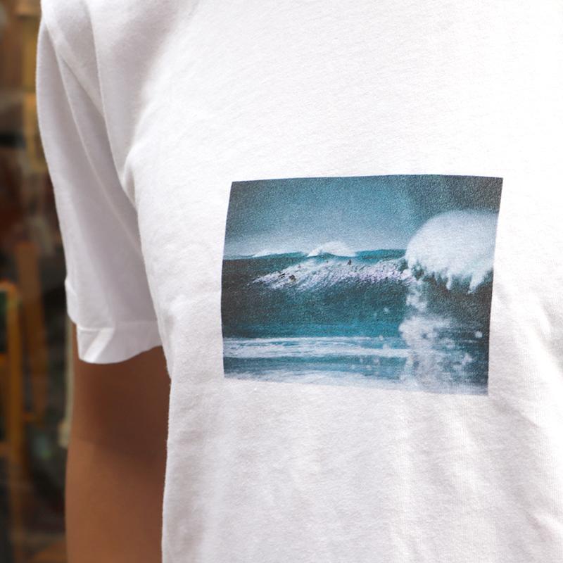 SALVAGE PUBLIC(サルベージ パブリック) フォトプリント 半袖Tシャツ