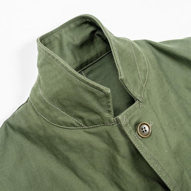 WORKERS/ワーカーズ Cruiser Jacket Reversed Sateen, Reactive Dyeing