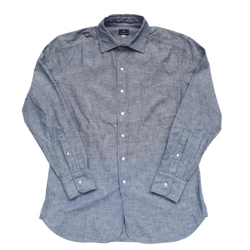 Candidum シャンブレーシャツ