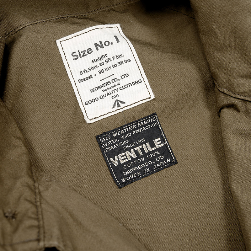 WORKERS(ワーカーズ) RAF PARKA ラフパーカ