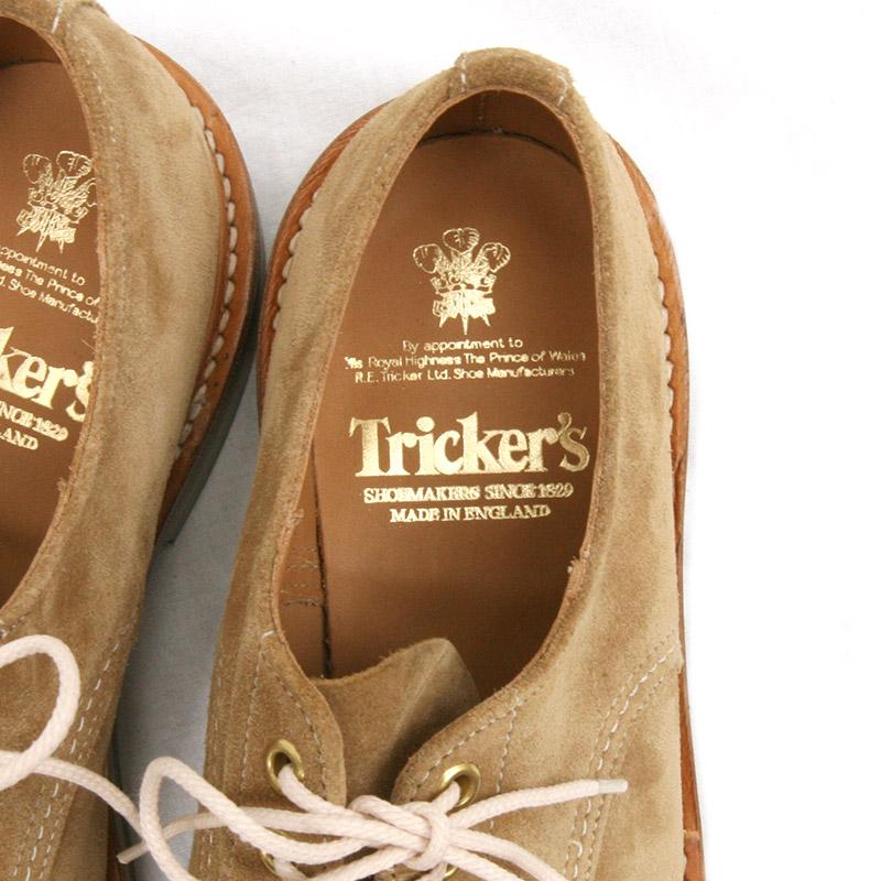 Tricker's(トリッカーズ) ハンドソーンダービーシューズ M6214 ガウチョスウェード