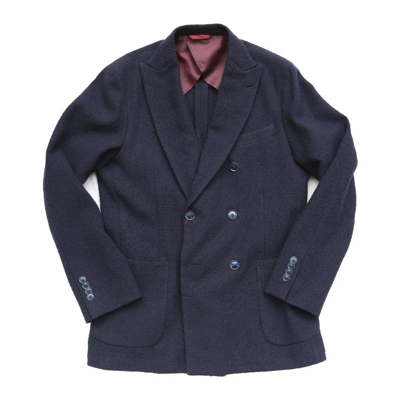Candidum LEOMASTER Double-Breasted Jacket C201173