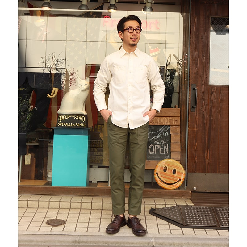 WORKERS ワーカーズ 5oz Work Shirt ワークシャツ