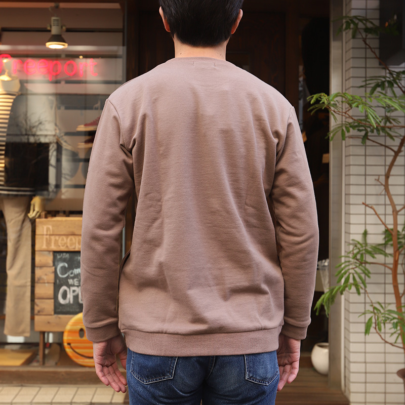 SPINNER BAIT/スピナーベイト ミニ裏毛リブクルーネック 123MU