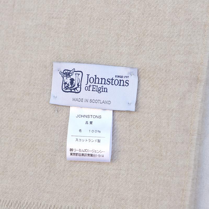 JOHNSTONS(ジョンストンズ) メリノウールストール WD000446
