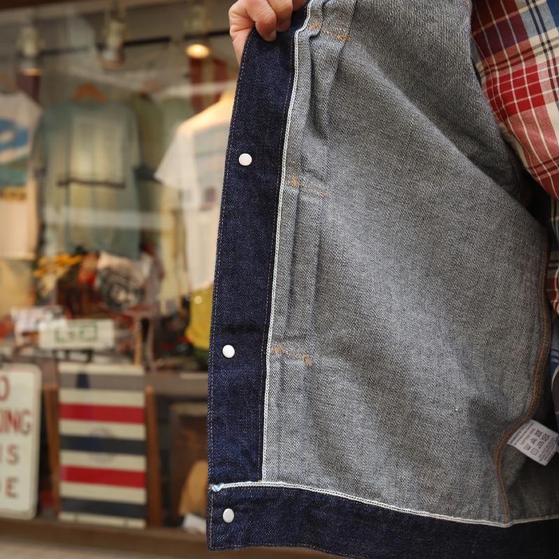 WORKERS 13.75oz Right Hand Indigo Denim Jacket 1st Model/ワーカーズ Gジャン