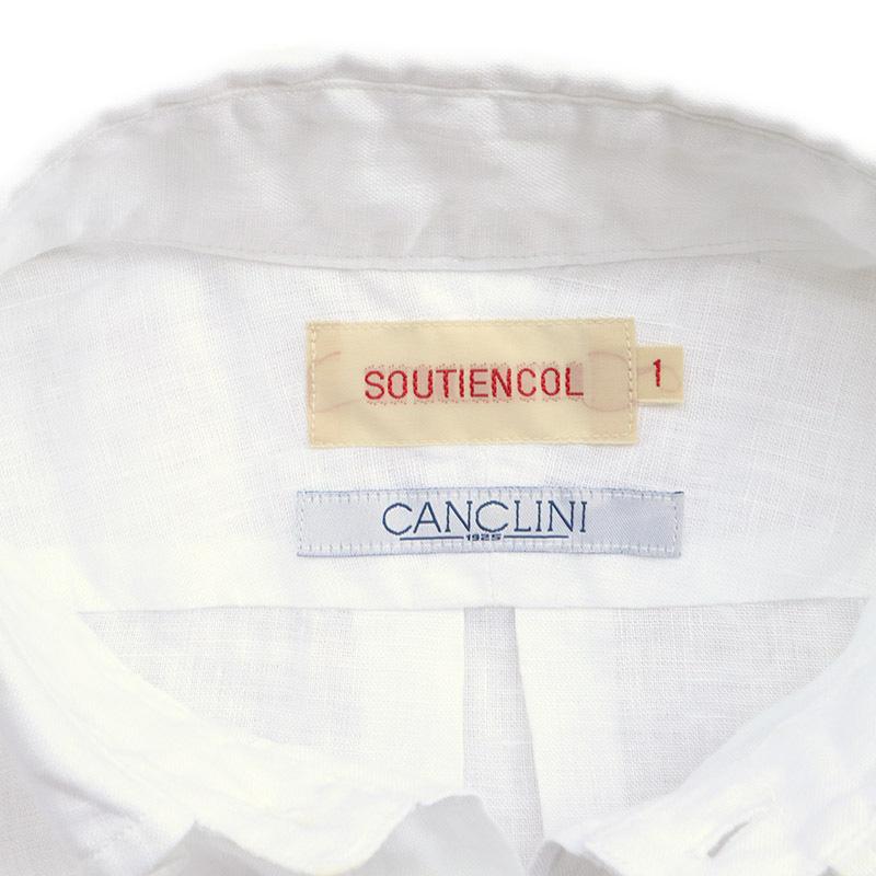 SOUTIENCOL /スティアンコル RE-MAKE POLO CANCLINI 201010 リメイクポロ ホワイト