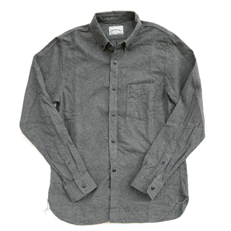 SPELLBOUND スペルバウンド ネルボタンダウンシャツ 46-132X