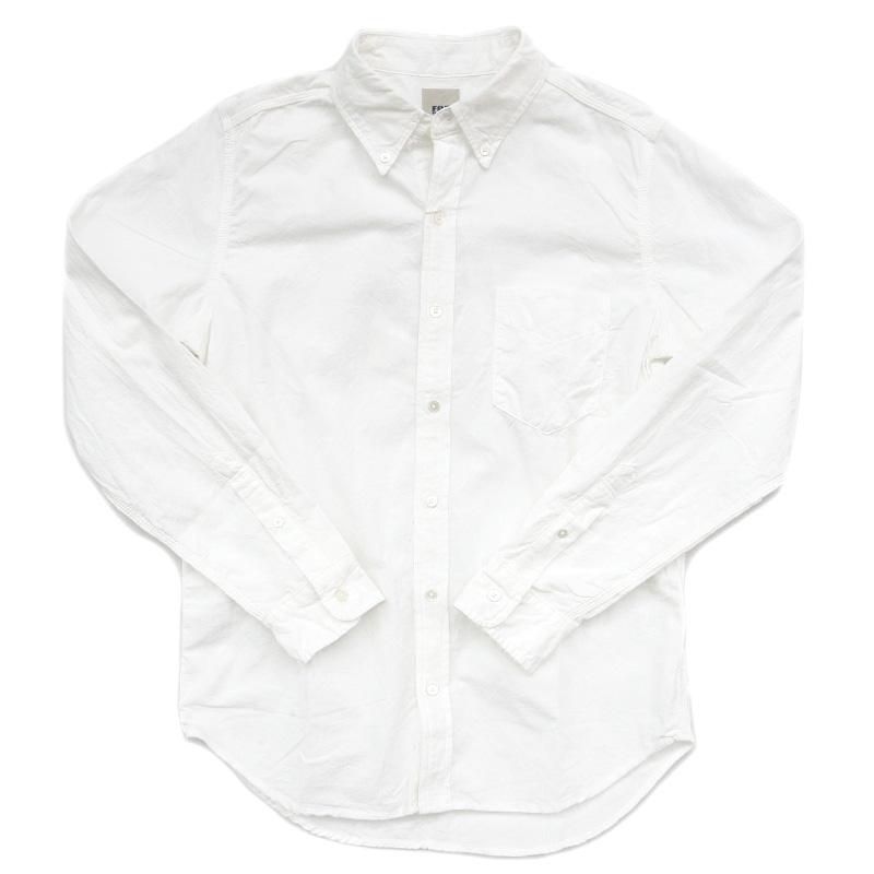 FOBファクトリー オックスボタンダウンシャツ F3398