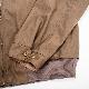 WORKERS Harrington Jacket Cotton Poly Gabardine Brown