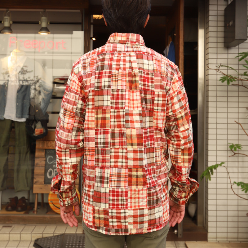 プルオーバー WORKERS/ワーカーズ Patchwork Pull Over BD Shirt