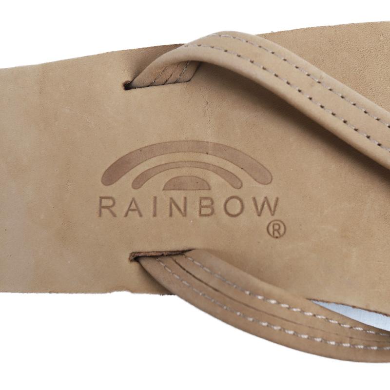 RAINBOW SANDALS 302ALTS 1/2 NARROW STRAP FOR WOMAN DOUBLE LAYER/レインボーサンダル レディースサイズ