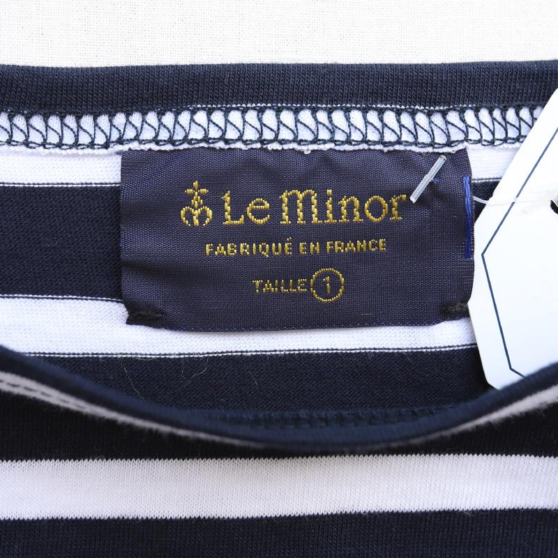 Leminor 半袖ボートネック Tee LEF101009/ルミノア