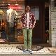 GITMAN/ギットマン Open Collar Shirt Art Deco Y465-56