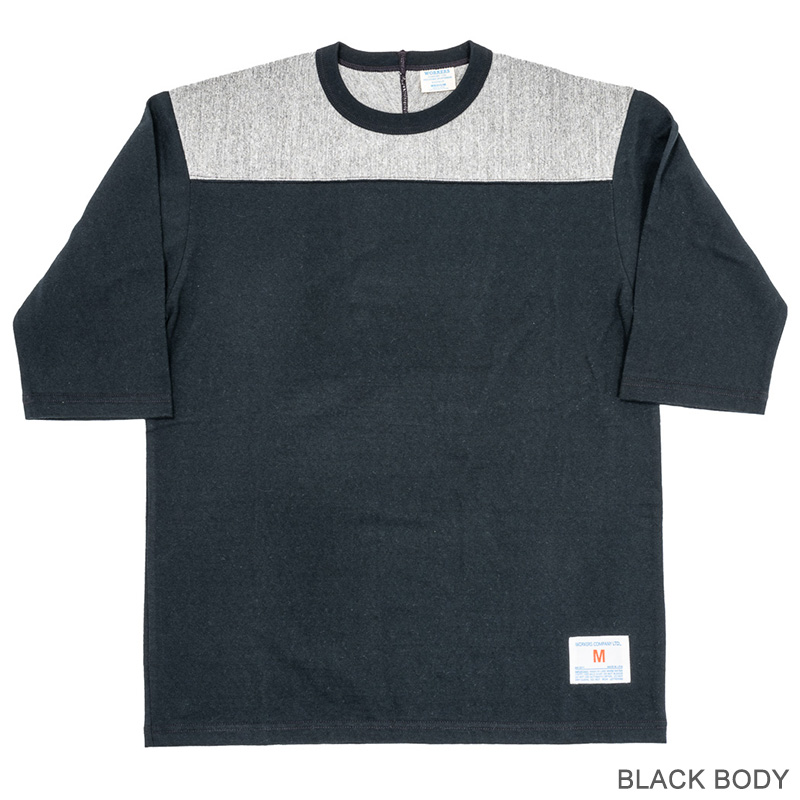 WORKERS/ワーカーズ Football T 2tone