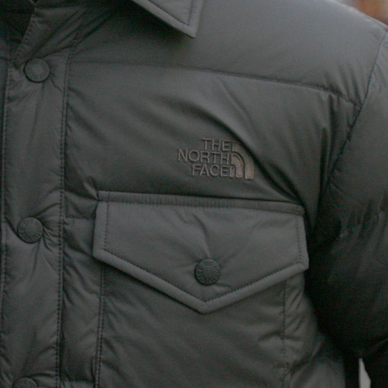 THE NORTH FACE(ザ ノースフェイス) スタッフドシャツ ND91610 (GG)グラフィットグレー