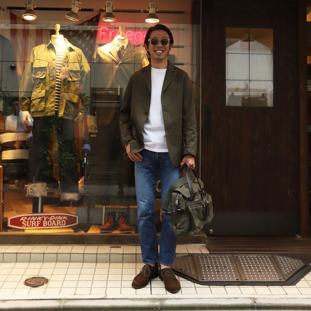FILSON 24-HOUR TIN BRIEF CASE  70140/フィルソン ブリーフケース