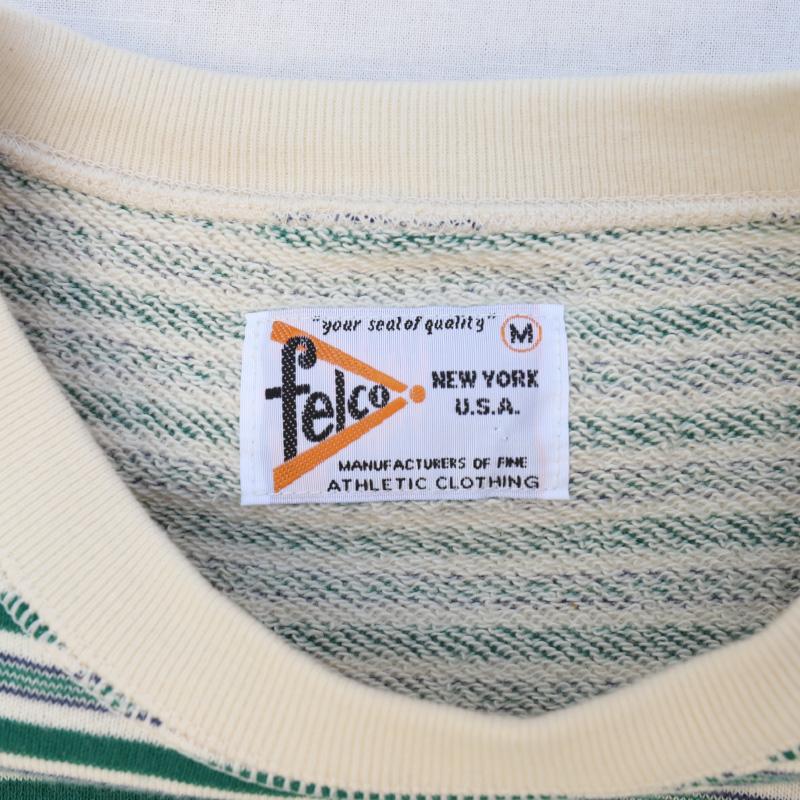 Felco/フェルコ S/S RAGLAN SWEAT IVY STRIPE