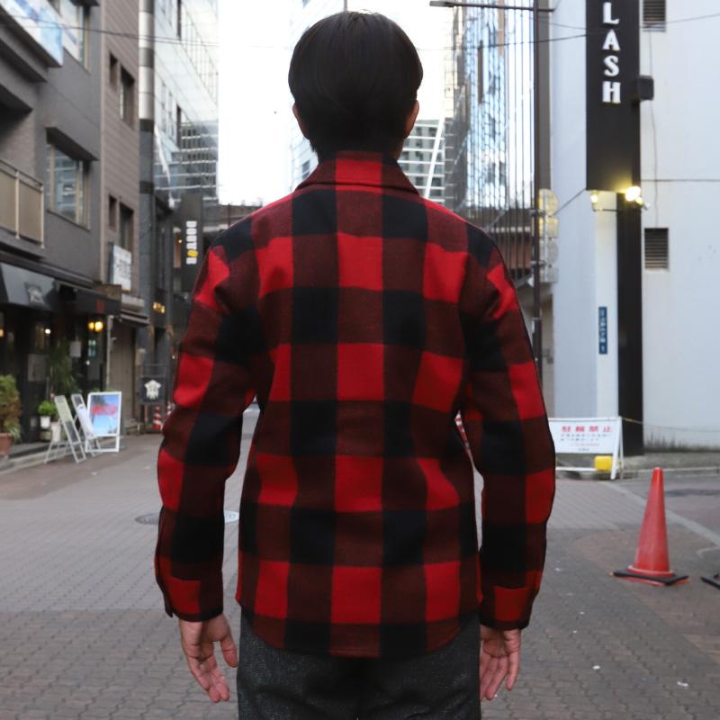 M.I.D.A.(ミダ)バッファローチェック CPO Jacket
