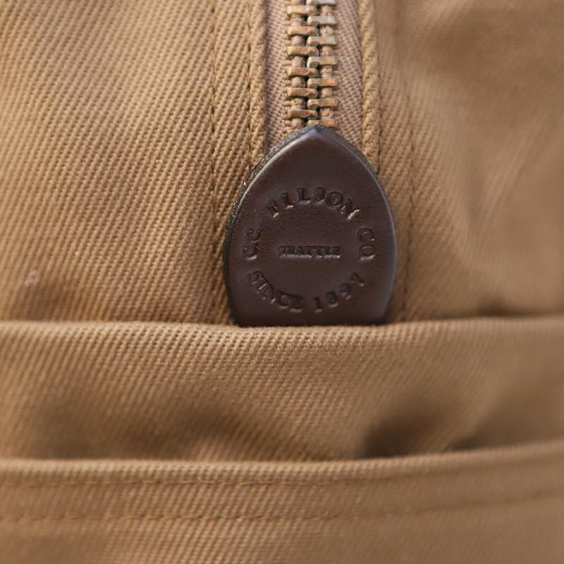 FILSON/フィルソンTOTE BAG with ZIPPER ジップトートバッグ<ブラウン>