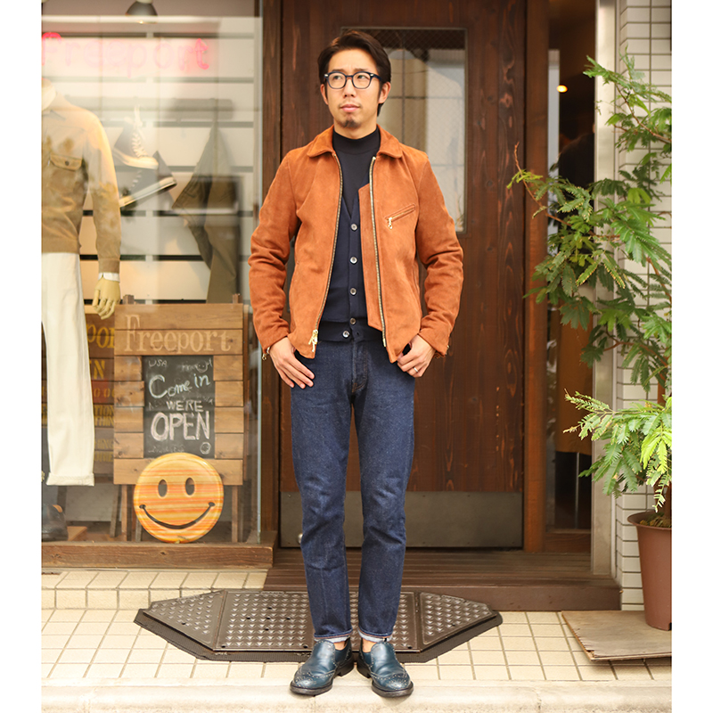 JOHNSMEDLEY NAPLES Vネックカーディガン ITALYAN FIT