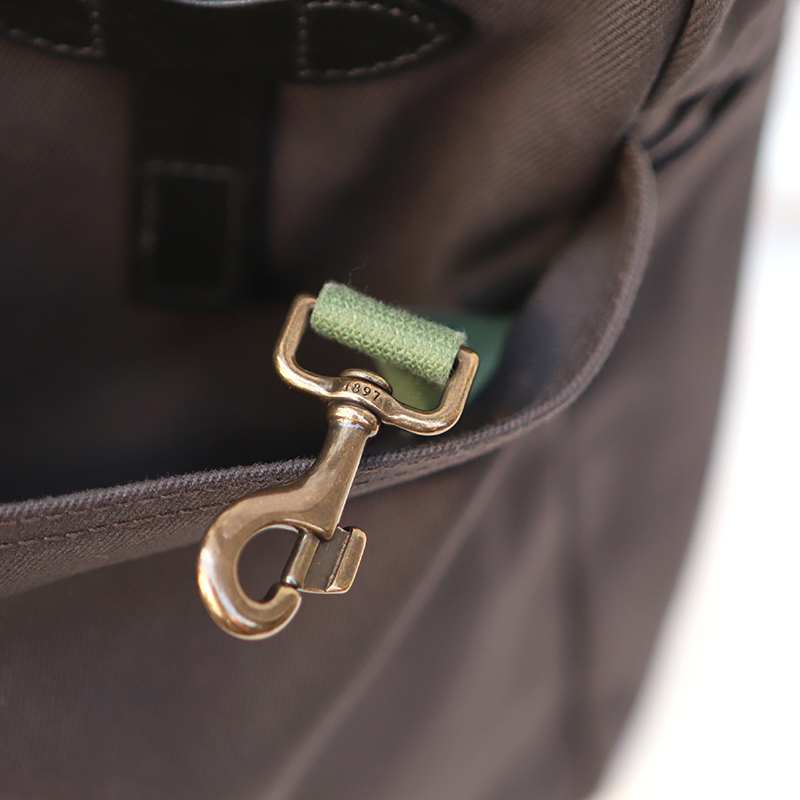 FILSON/フィルソンTOTE BAG with ZIPPER ジップトートバッグ<チャコール>