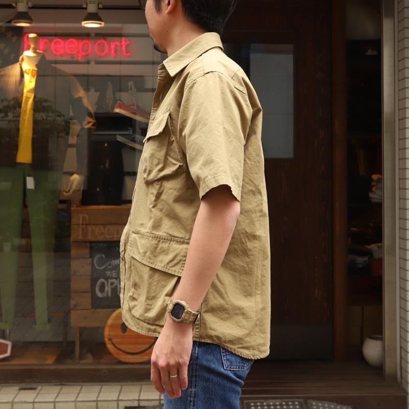 FOB FACTORY FATIGUE S/S SHIRT 半袖ファティーグシャツ F3467