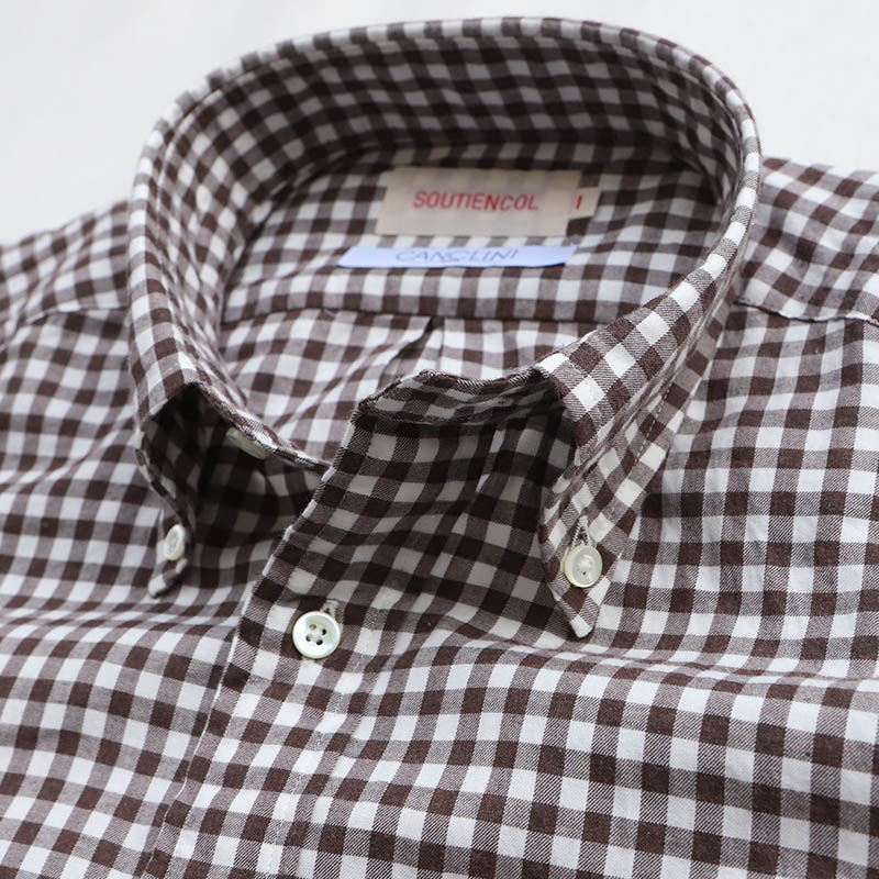 SOUTIENCOL BD Shirt Canclini Brushed Twill