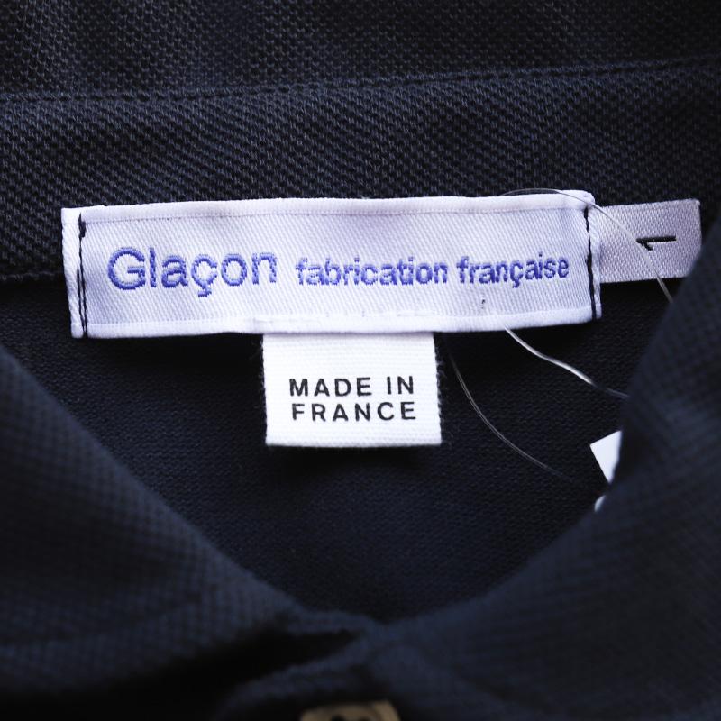 Glacon /グラソン ラウンドカラーポロ