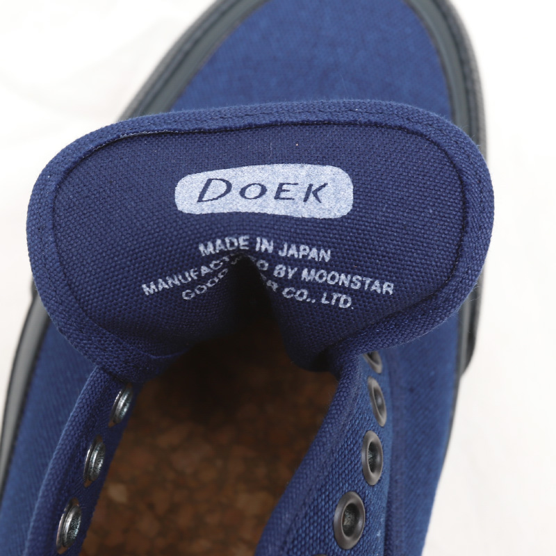 Doek/デュック OXFORD INDIGO/INDIGO スニーカー