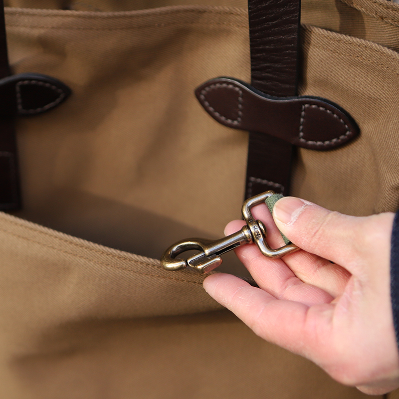 FILSON/フィルソンTOTE BAG without ZIPPER トートバッグ<ブラウン>