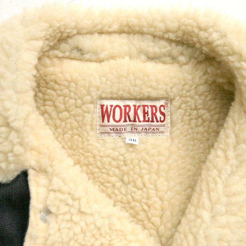 WORKERS(ワーカーズ) 10 Oz デニムボアジャケット