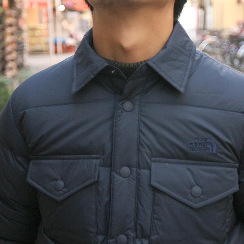 THE NORTH FACE(ザ ノースフェイス) スタッフドシャツ ND91610 (UN)アーバンネイビー