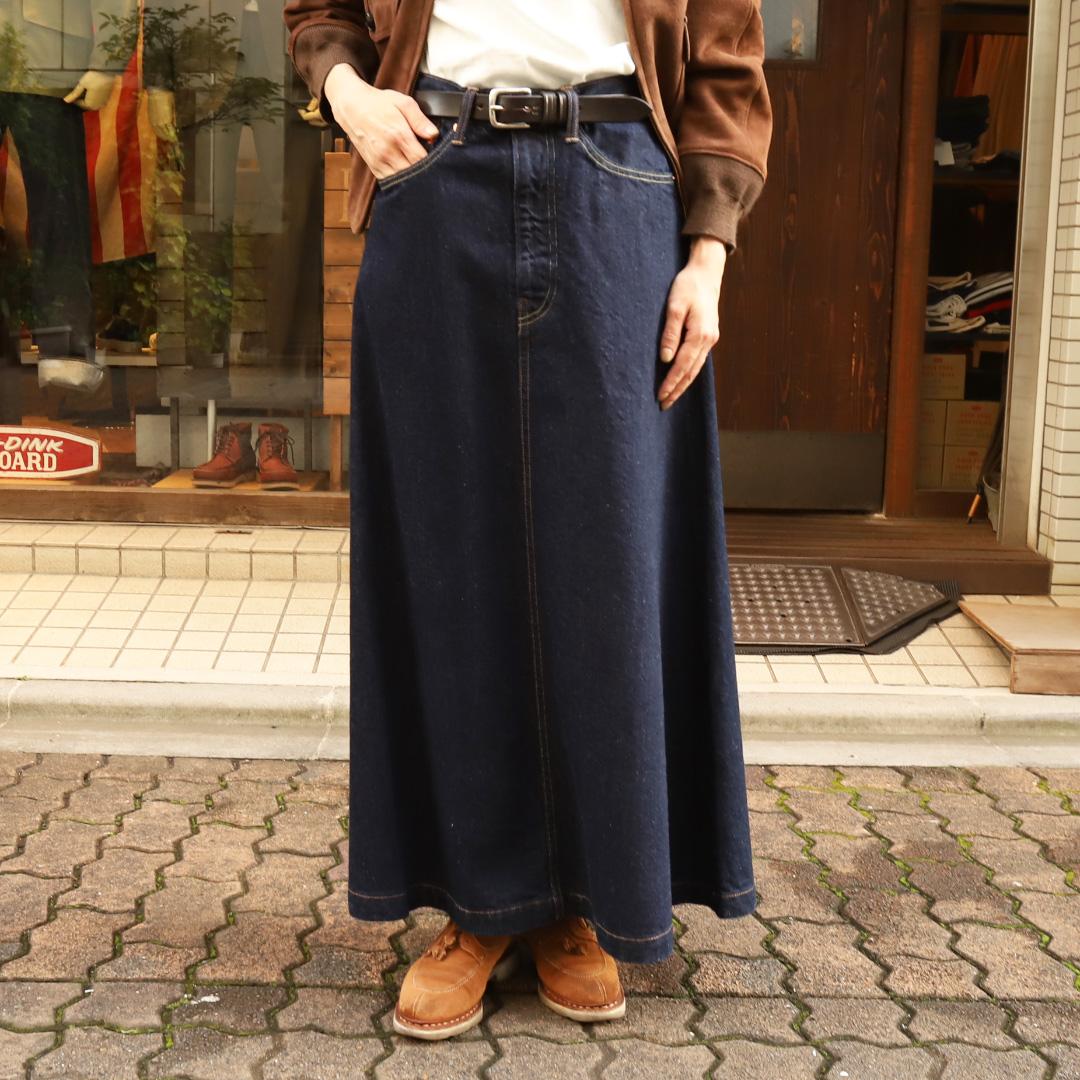 D.M.G 5P old skirt /デニムスカート