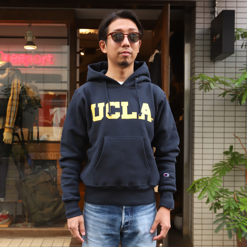 Champion/チャンピオン Reverse Weave Pullover Hooded UCLA