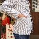Candidum シアサッカーシャツジャケット C201182