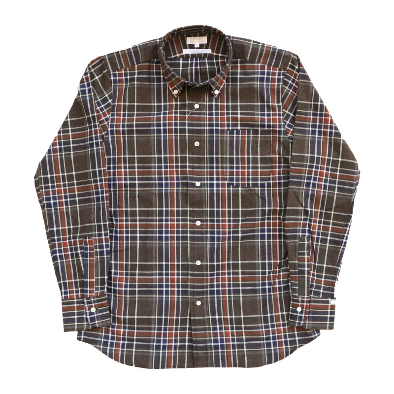 SOUTIENCOL IVY LEAGUE OLIVE CHECK 212006/スティアンコル アイビーリーグ