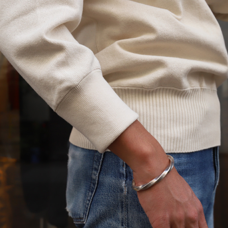 WORKERS/ワーカーズ Henley Neck Sweater