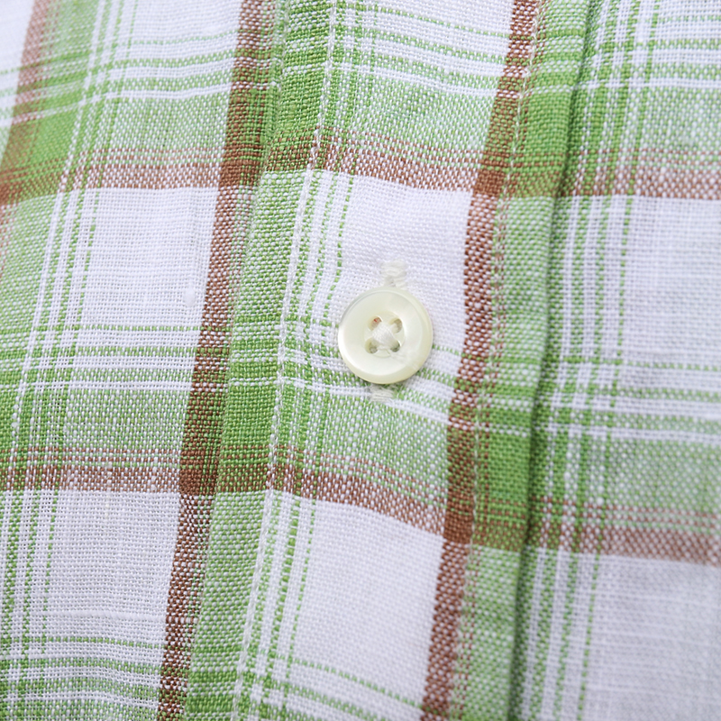 SOUTIENCOL /スティアンコル RE-MAKE POLO  checked CANCLINI 201013 リメイクポロ