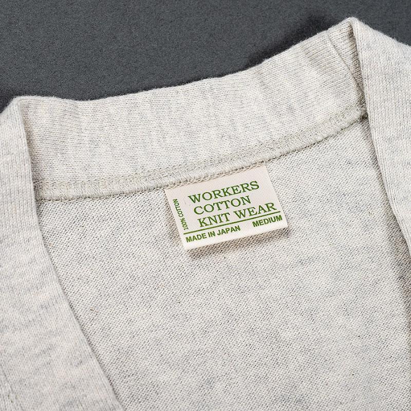 WORKERS FC High Knit, Cardigam /ワーカーズ FCニットカーディガン