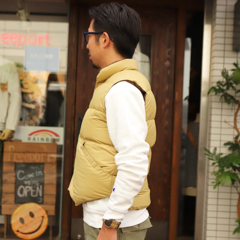 Crescent Down Works/クレセントダウンワークス NORTH BY NORTHWEST TAN×BROWN ノースバイ