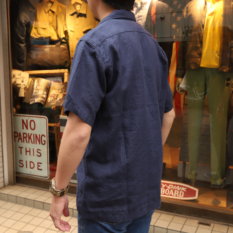 WORKERS/ワーカーズ Open Collar Shirt