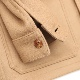 FOB FACTORY CASHMERE WOOL FRENCH COVER ALL F2387