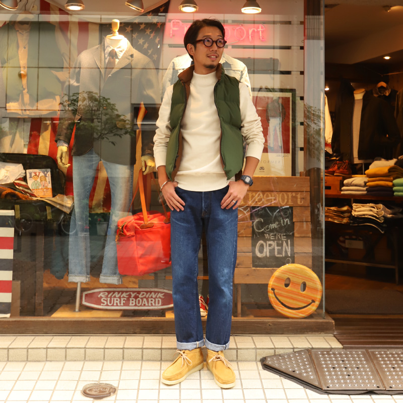 Crescent Down Works/クレセントダウンワークス NORTH BY NORTHWEST 60/40 OLIVE×BROWN