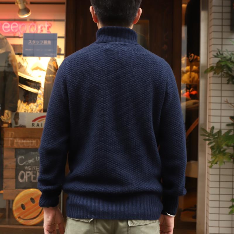 JAMES CHARLOTTE CASHMERE ROLLNECK カシミヤタートルネックセーター