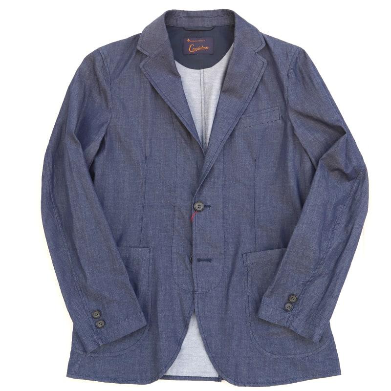 Candidum ライトデニムシャツジャケット C201191